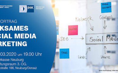 """""""Wirksames Social Media Marketing"""" Wie lassen sich XING und LinkedIn im Vertrieb und Recruiting einsetzen?"""